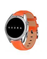 Kuura Smartwatch FM3 med läderrem