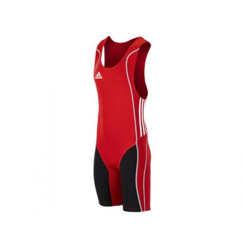 Adidas W8 tyngdlyftartrikå, röd