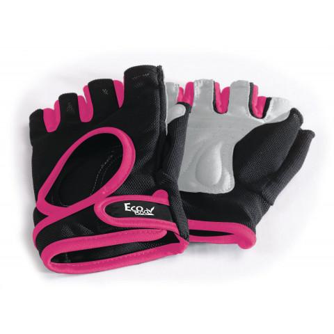 Eco Body Träningshandskar svart/pink