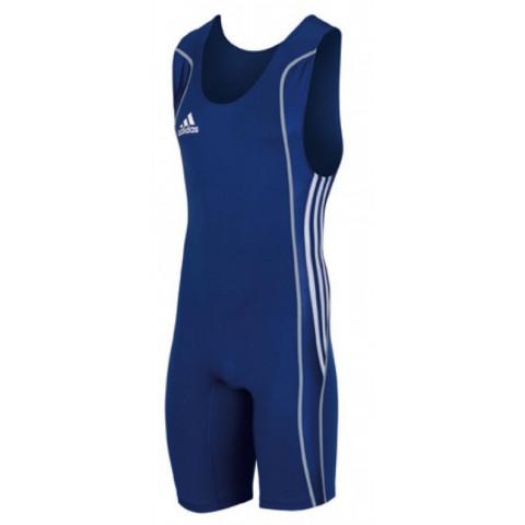 Adidas W8 brottningstrikå M, blå