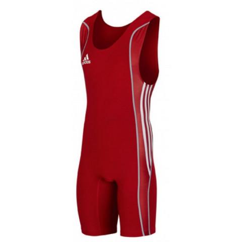 Adidas W8 brottningstrikå M, röd
