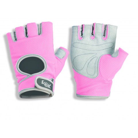 Eco Body träningshandskar, pink
