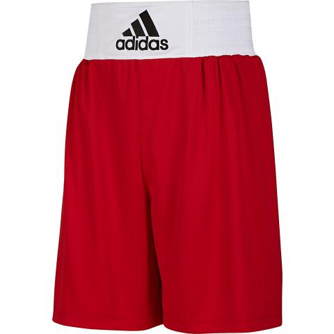 Adidas Base boxningsshorts, röd