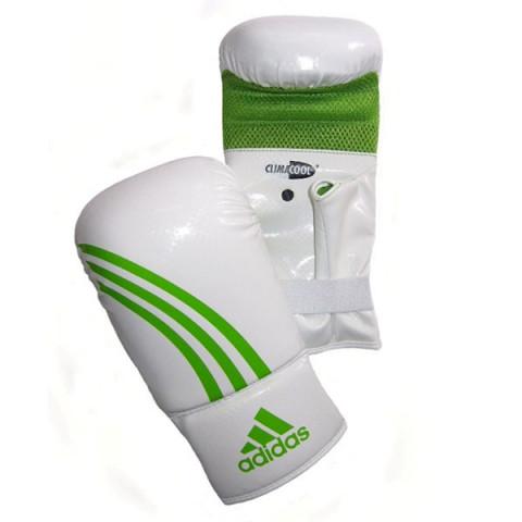 Adidas Box-Fit säckhandskar, vit/grön