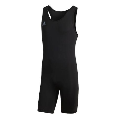 Adidas Powerlift Suit tyngdlyftningstrikå, svart