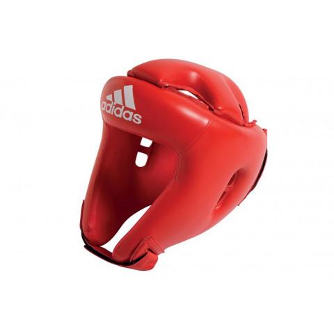 Adidas Rookie boxningshjälm för barn, röd