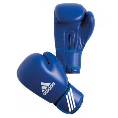 Adidas Aiba boxningshandskar, blå