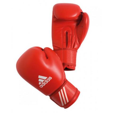 Adidas Aiba boxningshandskar, röd