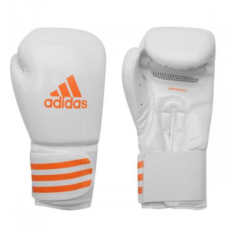 Adidas Box-Fit Boxningshandskar Vit/Orange