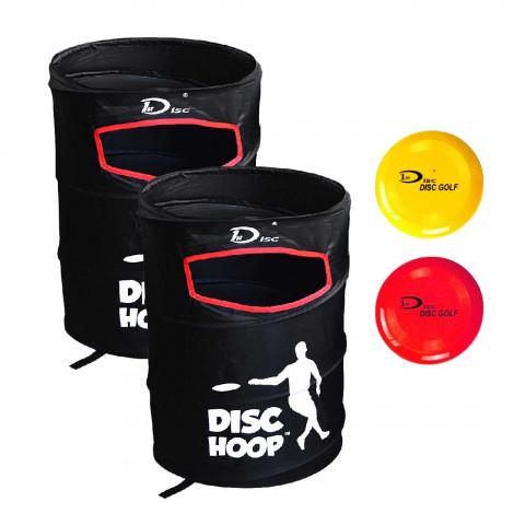 1st Disc Pop up frisbeegolfkorgset + diskar