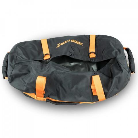 Iron Body Bag open