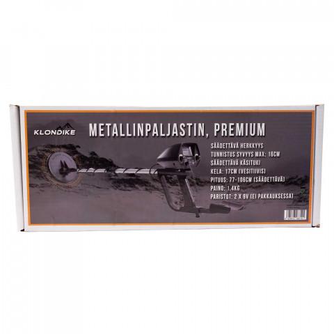 Klondike Premium metallinpaljastin