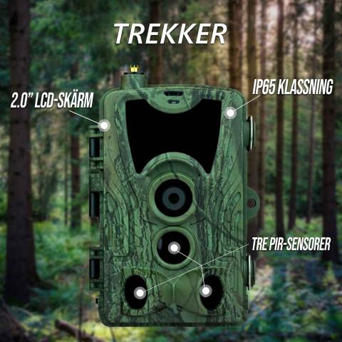 Åtelkamera Premium, inspelningsbar - Trekker