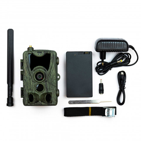 Åtelkamera Premium, sändande 4G med batteri - Trekker