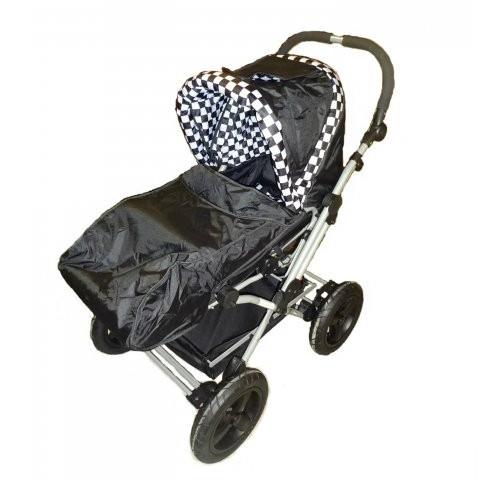 Fotskydd för barnvagn
