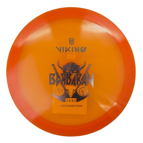 Viking Discs Fire Barbarian LED-disk