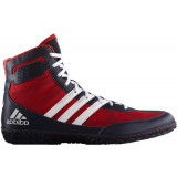Adidas Mat Wizard 3 Brottarskor, svart/röd