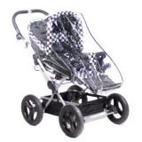 Regntäcke/vädersköld för barnvagn
