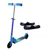 Snösparkcykel blå