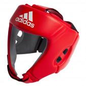 Adidas aiba boxningshjälm, röd