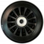 Reservhjul till sparkcykel, svart